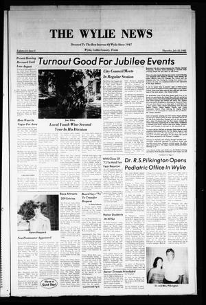 Primary view of object titled 'The Wylie News (Wylie, Tex.), Vol. 35, No. 5, Ed. 1 Thursday, July 22, 1982'.