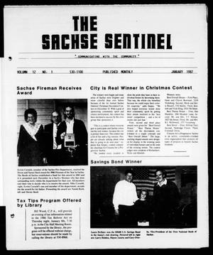 Primary view of object titled 'The Sachse Sentinel (Sachse, Tex.), Vol. 12, No. 1, Ed. 1 Thursday, January 1, 1987'.