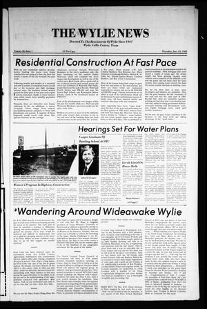 Primary view of object titled 'The Wylie News (Wylie, Tex.), Vol. 36, No. 1, Ed. 1 Thursday, June 23, 1983'.