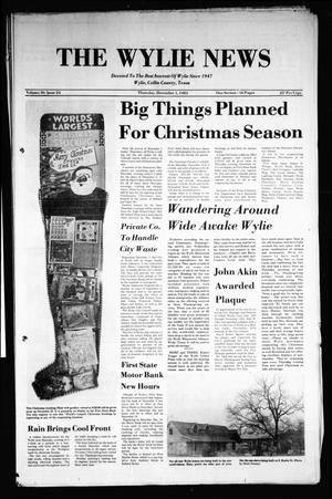 Primary view of object titled 'The Wylie News (Wylie, Tex.), Vol. 36, No. 24, Ed. 1 Thursday, December 1, 1983'.