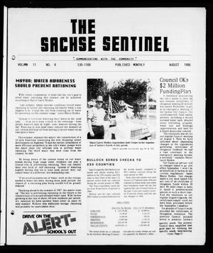 Primary view of object titled 'The Sachse Sentinel (Sachse, Tex.), Vol. 11, No. 8, Ed. 1 Friday, August 1, 1986'.
