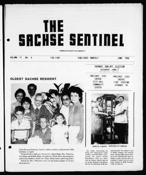 Primary view of object titled 'The Sachse Sentinel (Sachse, Tex.), Vol. 11, No. 6, Ed. 1 Sunday, June 1, 1986'.