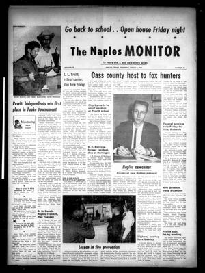 Primary view of object titled 'The Naples Monitor (Naples, Tex.), Vol. 78, No. 33, Ed. 1 Thursday, March 5, 1964'.