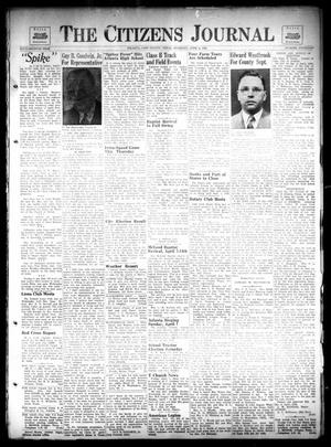 Primary view of The Citizens Journal (Atlanta, Tex.), Vol. 67, No. 14, Ed. 1 Thursday, April 4, 1946