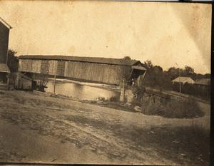 Primary view of object titled 'Covered Wooden Bridge, c. 1902'.