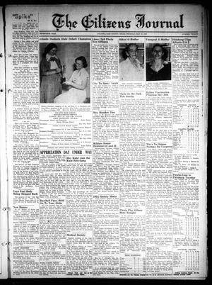 The Citizens Journal (Atlanta, Tex.), Vol. 70, No. 20, Ed. 1 Thursday, May 18, 1950