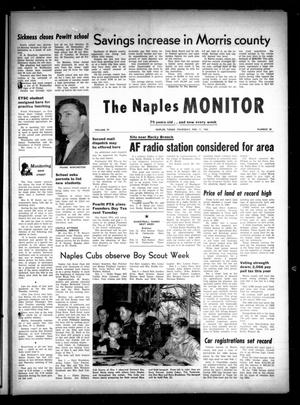 Primary view of object titled 'The Naples Monitor (Naples, Tex.), Vol. 79, No. 30, Ed. 1 Thursday, February 11, 1965'.