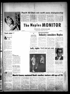 The Naples Monitor (Naples, Tex.), Vol. 78, No. 3, Ed. 1 Thursday, August 8, 1963
