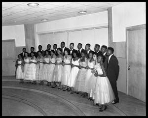 Primary view of object titled '[An Anderson High School Choir]'.