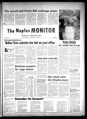 Primary view of object titled 'The Naples Monitor (Naples, Tex.), Vol. 79, No. 18, Ed. 1 Thursday, November 19, 1964'.