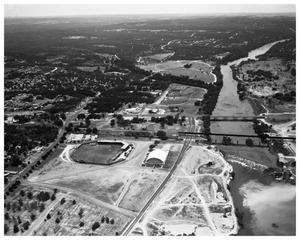 Primary view of object titled 'Disch Baseball Field (aerial view)'.