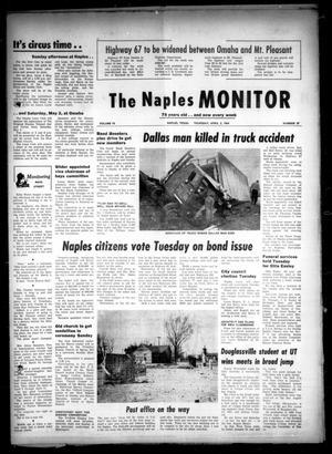 The Naples Monitor (Naples, Tex ), Vol  78, No  37, Ed  1 Thursday
