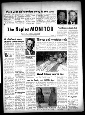 Primary view of object titled 'The Naples Monitor (Naples, Tex.), Vol. 79, No. 29, Ed. 1 Thursday, February 4, 1965'.