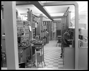 Primary view of object titled 'Office setup of the 1950's'.