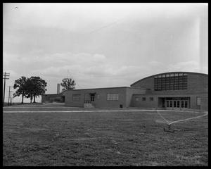 "Primary view of object titled 'Anderson High School - ""three sites""'."