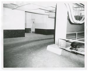 Primary view of object titled '[City Hall Basement and Main Street Ramp]'.