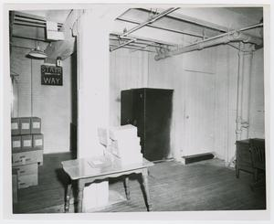 Primary view of object titled '[Second Floor of Texas School Book Depository]'.
