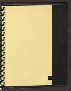 "Primary view of object titled '[Index tab labeled ""X"" from an inventory notebook]'."