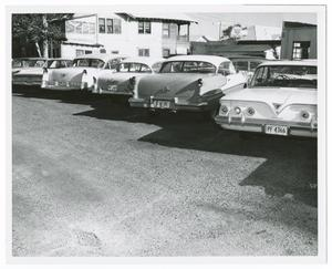 Primary view of object titled '[Cars at the Tippit Shooting #2]'.