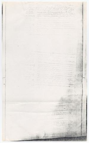 Primary view of object titled '[Prisoner medical records describing the condition of Jack Ruby]'.