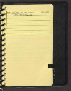 "Primary view of object titled '[Index page filed under ""S"" from an inventory notebook #8]'."