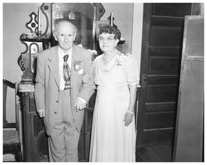 Primary view of object titled 'Mr. and Mrs. Burns'.