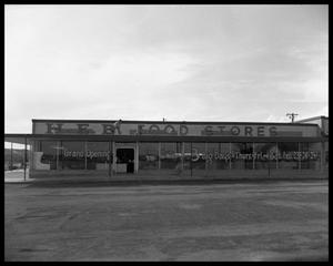 Primary view of object titled 'Shopping center with HEB, Allandale Village'.