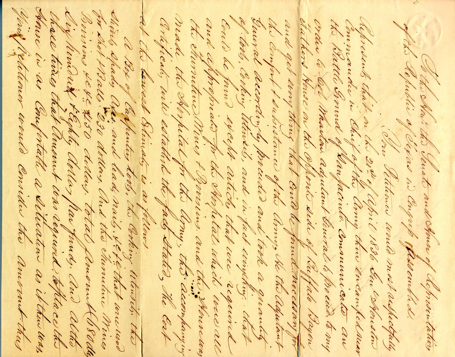 Petition by Lorenzo de Zavala Jr. January 15th 1841                                                                                                      [Sequence #]: 1 of 2