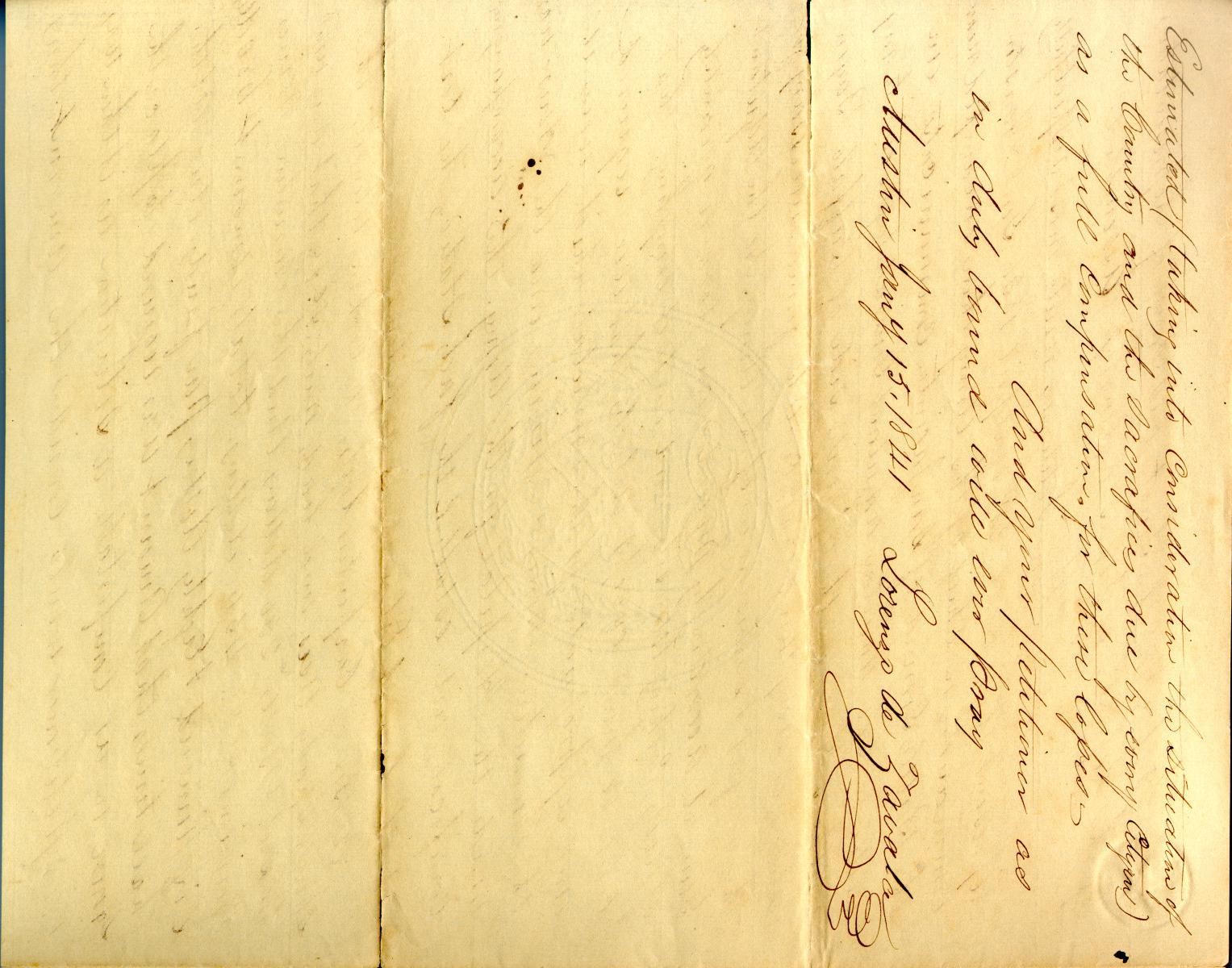 Petition by Lorenzo de Zavala Jr. January 15th 1841                                                                                                      [Sequence #]: 2 of 2
