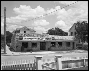 Primary view of object titled 'Guajardo Grocery and Market - exterior view'.