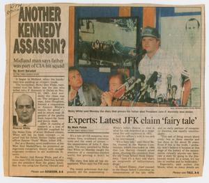 "[Newspaper Clipping: ""Another Kennedy Assassin?""]"