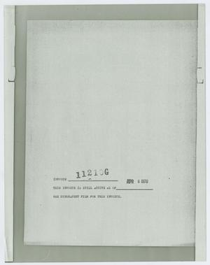 Primary view of object titled '[File Note]'.