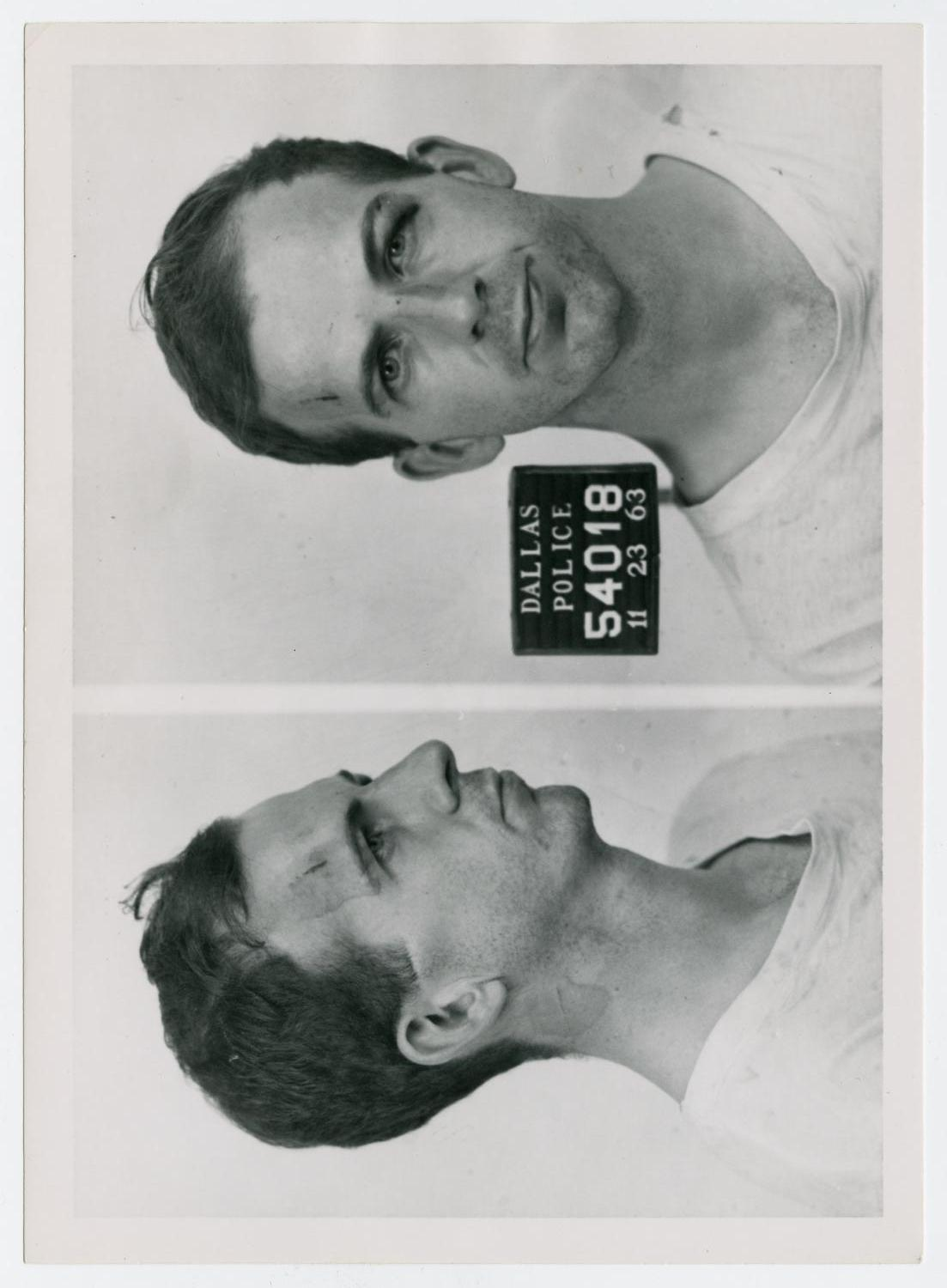 [Mugshots of Lee Harvey Oswald #4]                                                                                                      [Sequence #]: 1 of 2