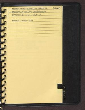 "Primary view of object titled '[Index page filed under ""U"" from an inventory notebook]'."