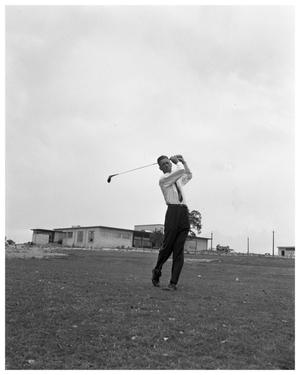 Primary view of object titled 'Harvey Penick at Austin Country Club'.