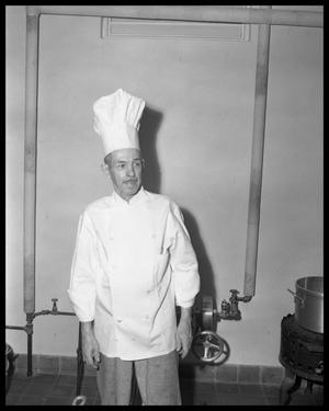 Primary view of object titled 'Chef, Perry Hotel'.