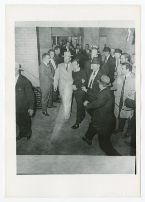 Primary view of object titled '[Jack Ruby Shooting Lee Harvey Oswald]'.