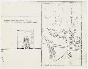 Primary view of object titled '[Magazine Article: Pan American Walking Tour, November 6, 1960]'.