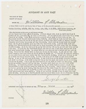 Primary view of object titled '[Affidavit In Any Fact by George Senator #2]'.