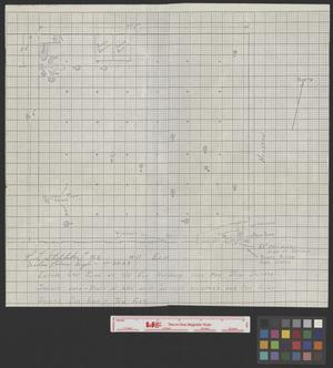 Primary view of object titled '[Diagram of the sixth floor of the Texas School Book Depository]'.