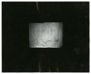 Primary view of object titled '[Map of the City Hall Basement]'.