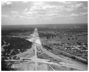 Primary view of object titled 'Aerial views - East Avenue Highway'.