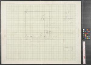 Primary view of object titled '[Map of Area Around Window at 411 Elm]'.