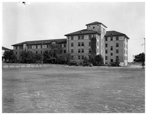 Primary view of object titled 'Brackenridge Dorm'.