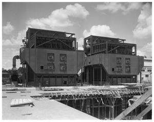 Primary view of object titled 'City power plant boilers'.