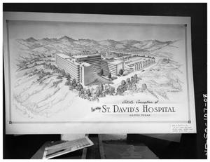 Primary view of object titled 'St. David's Hosp interior & exterior'.