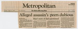 [Newspaper Clippings, 1990]