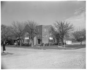 Primary view of object titled 'Shettles Memorial Methodist Church 40th & Speedway'.