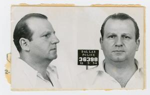 Primary view of object titled '[Mugshots of Jack Ruby #3]'.