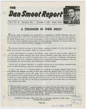 Primary view of object titled '[The Dan Smoot Report, Volume 9, December 1963 #3]'.